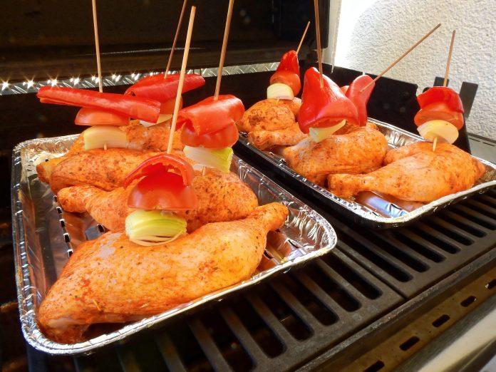Grilled chicken problems